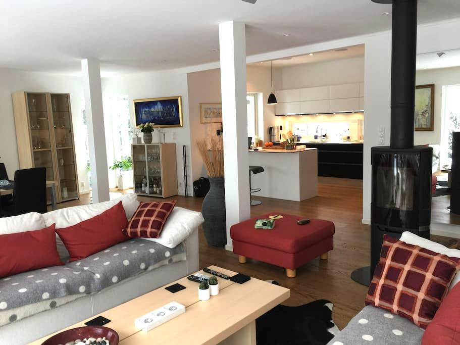 Large house, 5-stars! 3 bedrooms, terrace, parking - Oslo - Casa