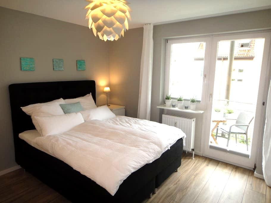 Moderne 1 Zi Whg gegenüber Villa Wahnfried (2Pers) - Bayreuth - Appartement