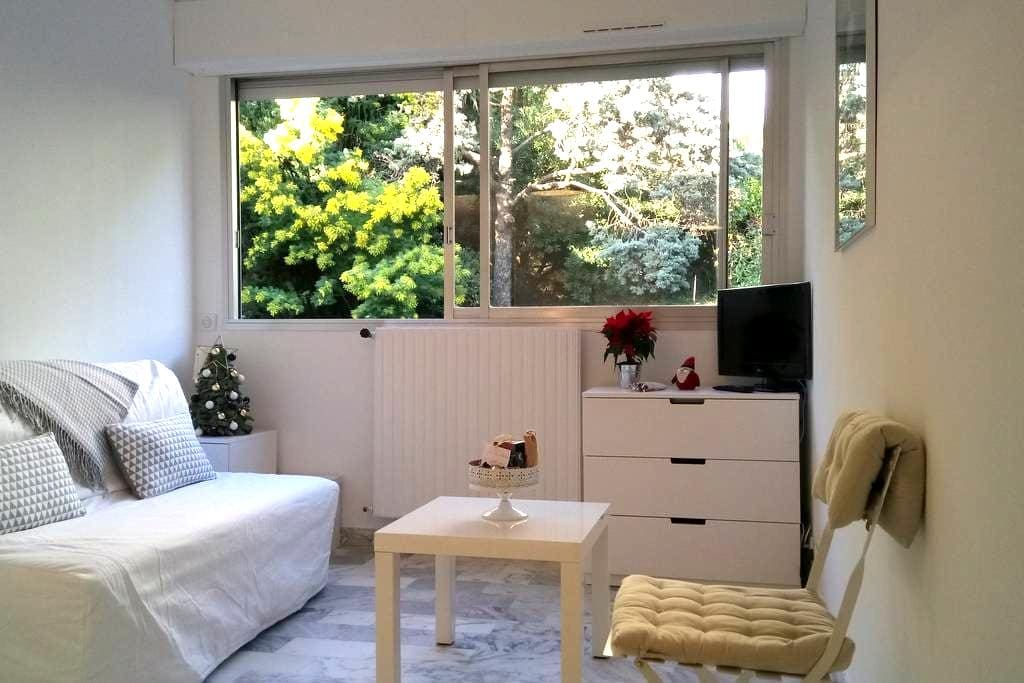BEAU  STUDIO DANS RESIDENCE SECURISEE , CANNES - Cannes - Huoneisto