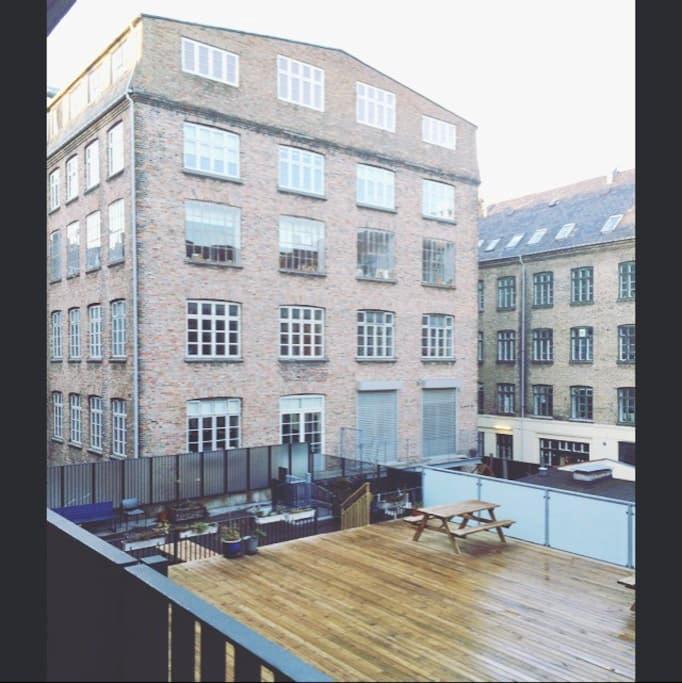 Lovely room in central Nørrebro - Köpenhamn - Lägenhet