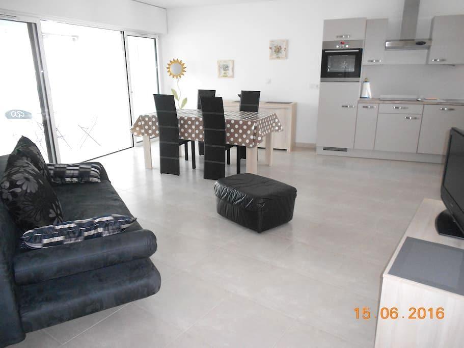 apt 53 m2 centre ville 400 m de la plage 4 pers... - Les Sables-d'Olonne - Apto. en complejo residencial