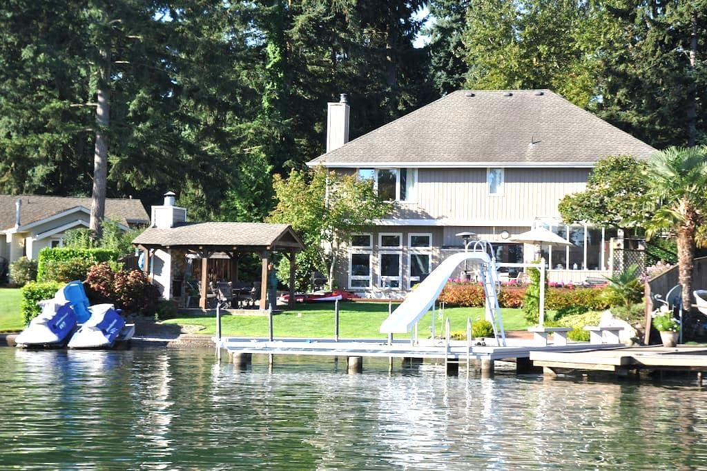 Lake Tapps Waterfront Home - Bonney Lake