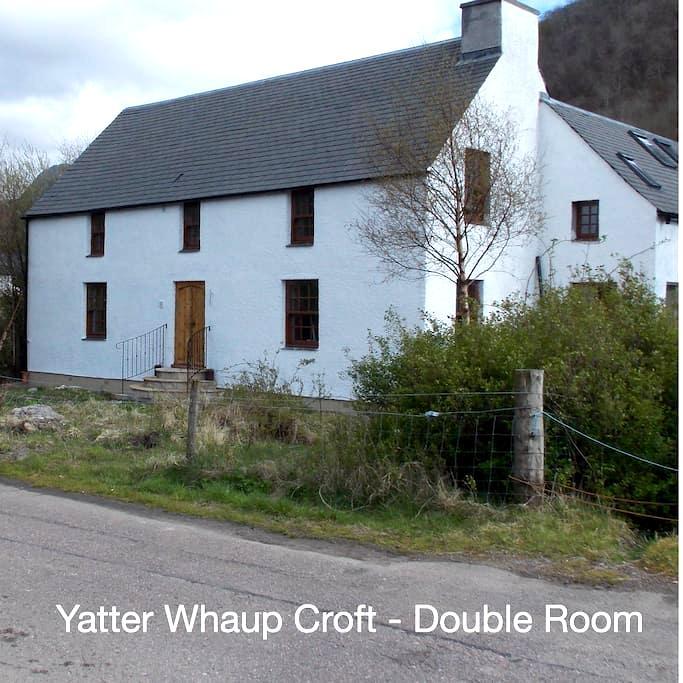 Yatter Whaup Croft B&B- Double Room - Glencoe