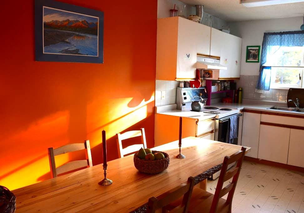 Cozy Main Floor with Woodstove near Yukon River - Whitehorse - Haus
