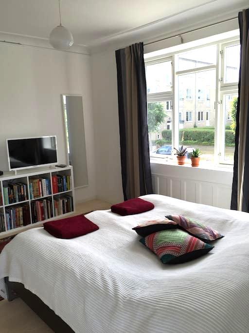 Stort lyst værelse - Köpenhamn - Hus