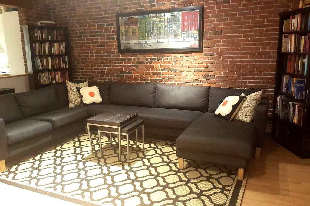 Walk everywhere from this South End garden studio - Boston - Daire