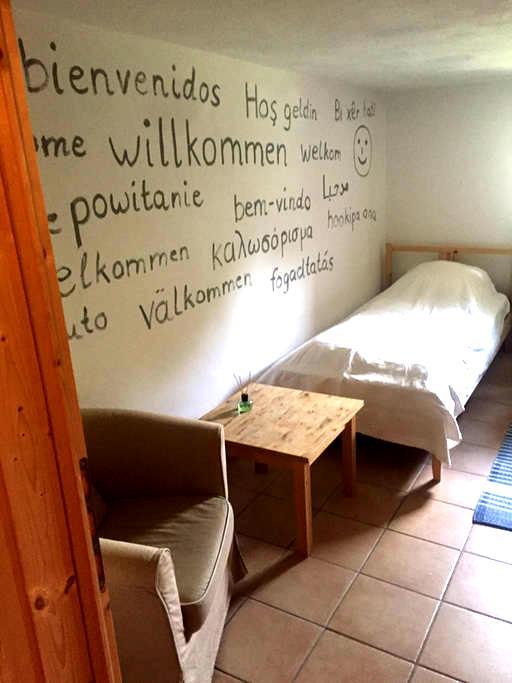 Niedliches Zimmer zwischen Köln und Bonn - Wesseling - Haus