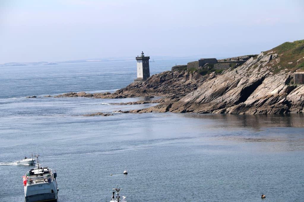 la maison du port très jolie vue mer - Le Conquet