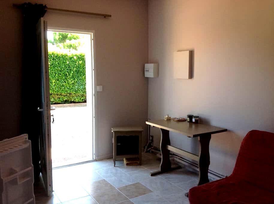 Studio indépendant dans maison - Carcassonne - Apartment