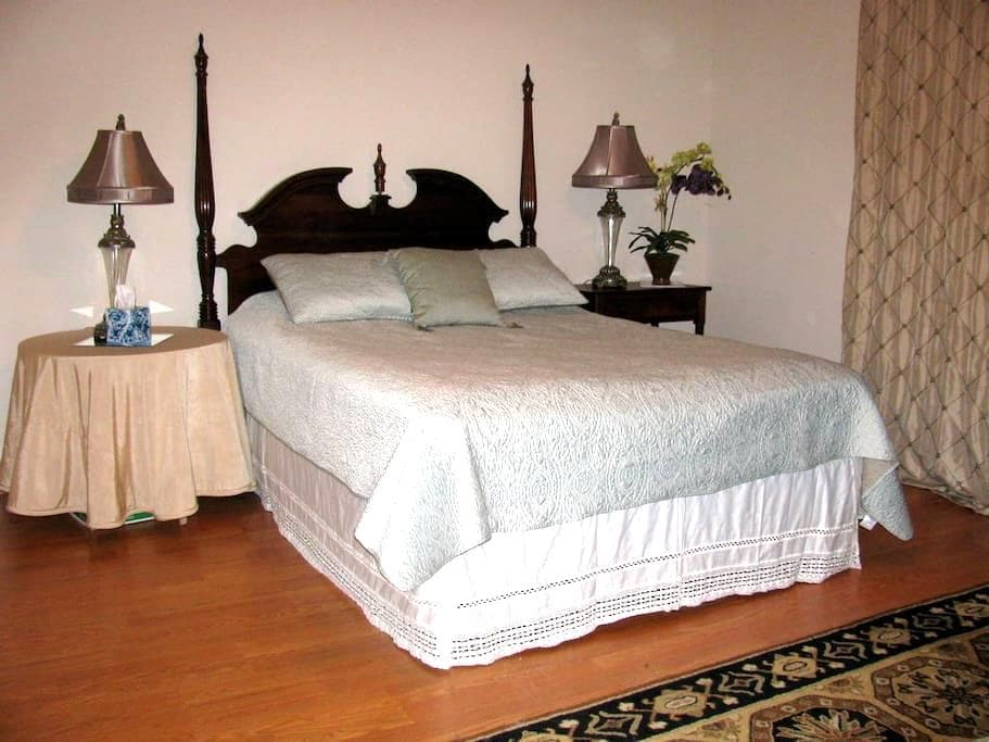 Spacious master bedroom suite - Seabrook - House