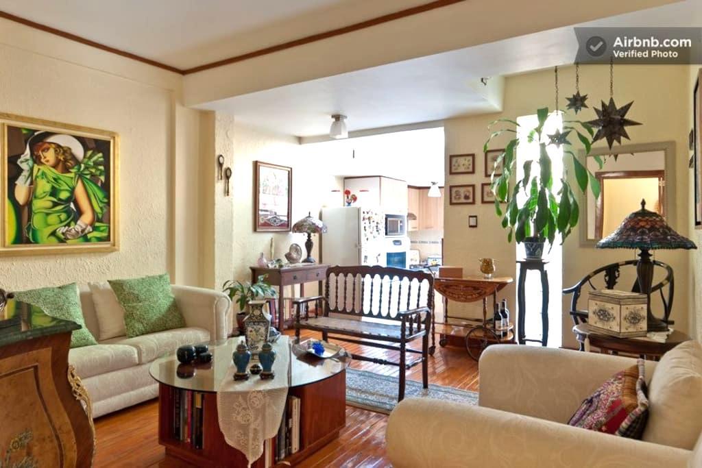 wonderfully located apartment - Cidade do México - Apartamento