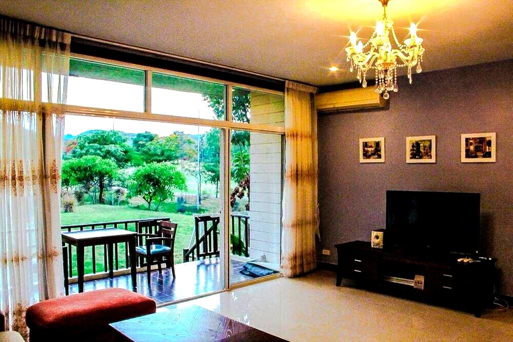 Stunning 2 BR Apt in Bonanza,Kaoyai - Pak Chong - Lägenhet