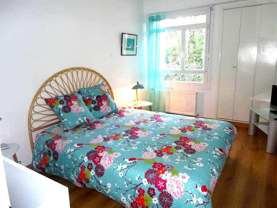Charming apartment in a garden, Marseille - Marseille - Apartment