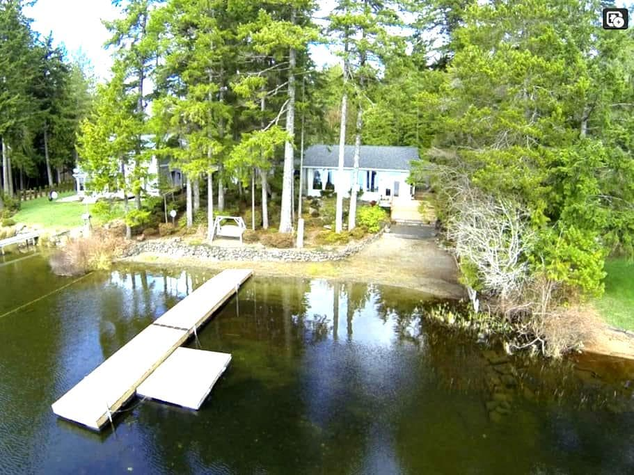 Cabin on Tranquil Panther Lake - Bremerton - Huis