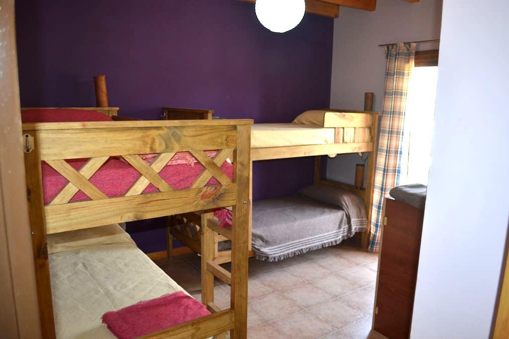 Cama en Hermosa Habitacion - El Bolsón - Kollégium
