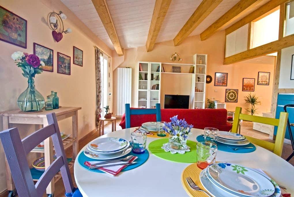 A prima Vista: new,central,charming - Perugia - Apartament
