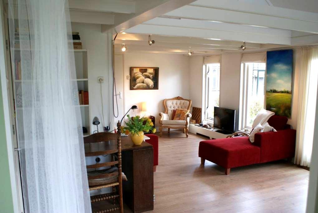 Landelijk verbouwde schapenschuur - Boksum - House
