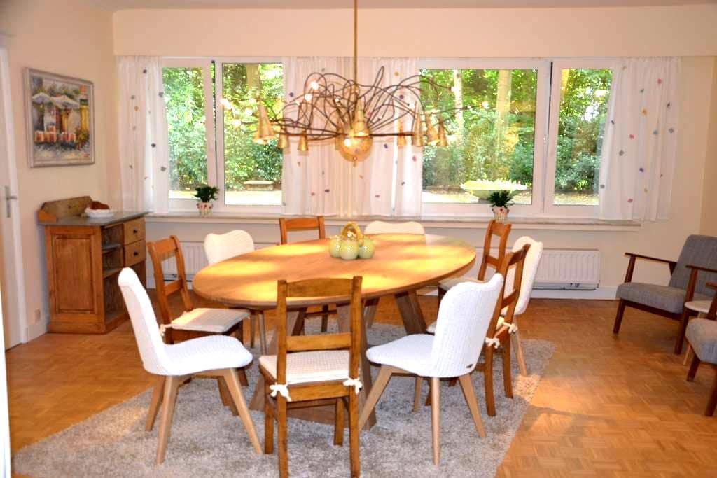 Knus en gezellig appartement met zicht op groen - Antuérpia - Apartamento