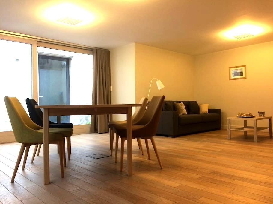 L'Aparté, grand studio avec patio à 8mn place Stan - Nancy - Apartamento