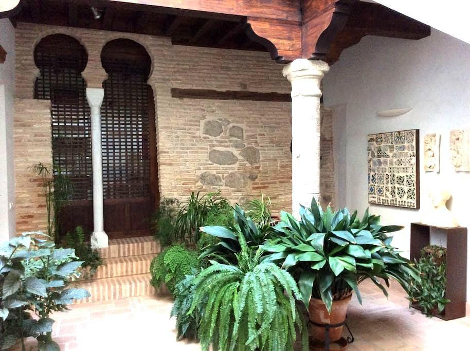 House patio XIII: bedroom + bathroom - Toledo - Casa