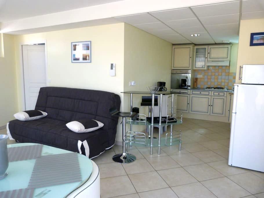 Appartement Le Beaurivage à 500m de la plage - Urville-Nacqueville