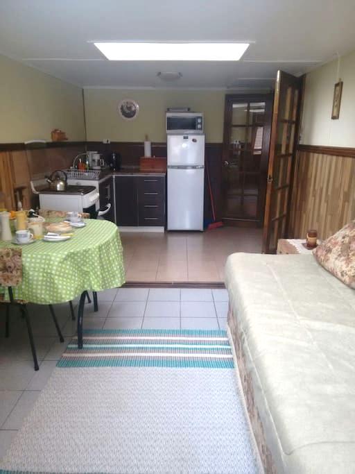 Acogedor departamento para 3 personas. - Punta Arenas - Apartamento