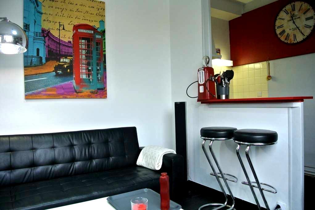 Bel appartement vintage avec jardin - Pessac - Daire