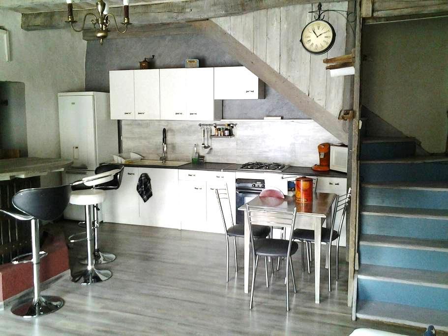 Ancien pressoir rénové en maison - Saint Julien de Coppel - Casa