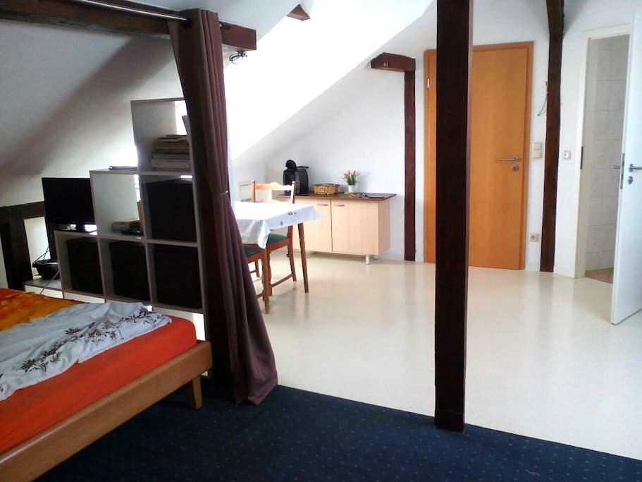 Spacious, private loft with pantry, bath, wifi ... - Königstein im Taunus