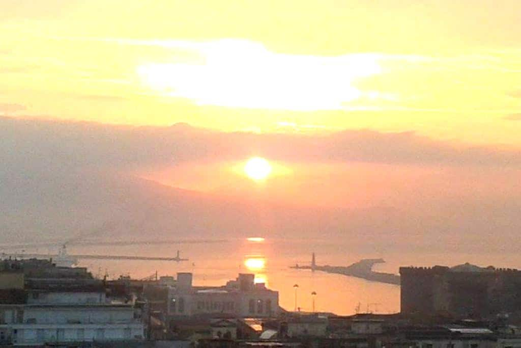 Beautiful view on the bay - Napoli - Appartement