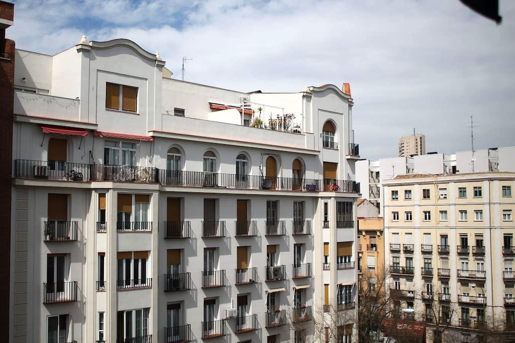 Habitación privada muy luminosa - Madrid - Apartment