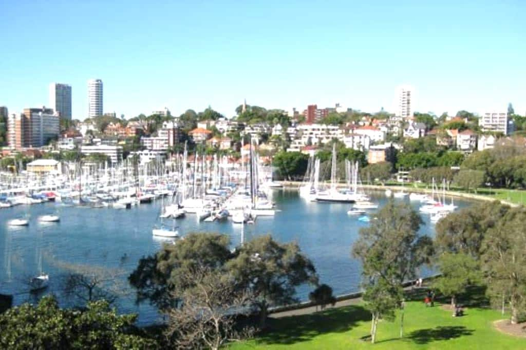 Stylish 1 Bed Room Apartment - Rushcutters Bay - Leilighet