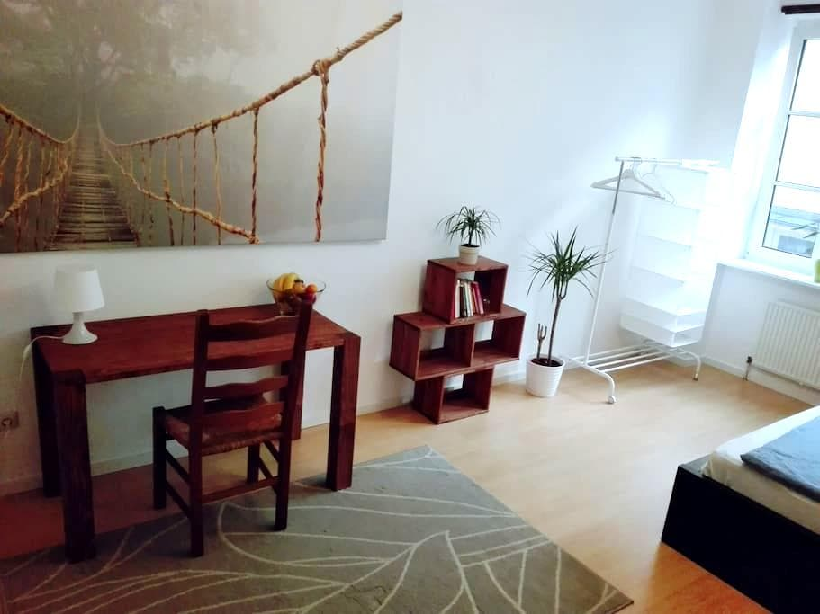 Clean and Spacey Room in perfect central Location - München - Appartement