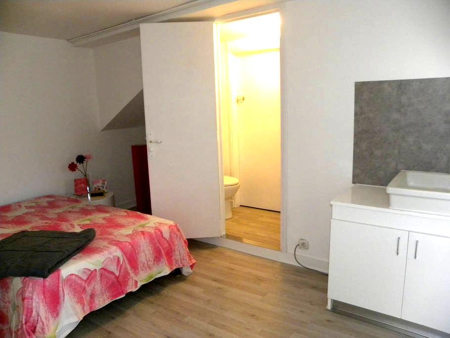 chambre indépendante de 14m2.Parking - Lécousse - House