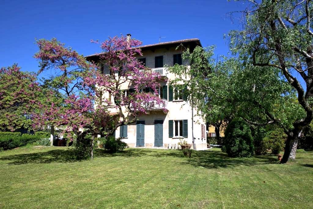Casa d'epoca con giardino - Oleggio - Haus
