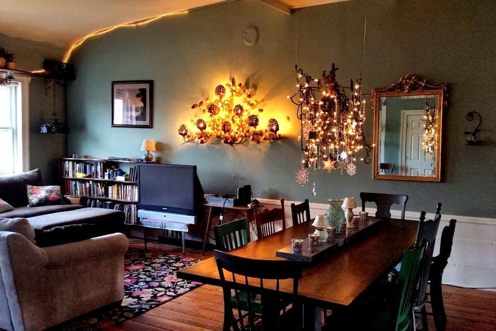 Cozy, romantic Rhinebeck loft - Rhinebeck - Loft