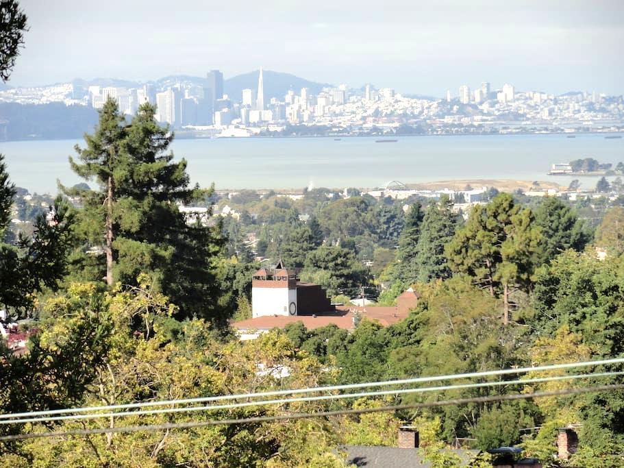 Room with a view. A b&b in Berkeley - Berkeley - Bed & Breakfast