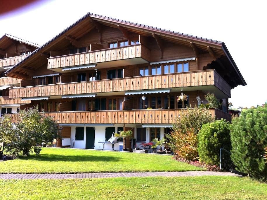 2,5 Zi Wohnung Seebrise, Faulensee - Faulensee - Apartament
