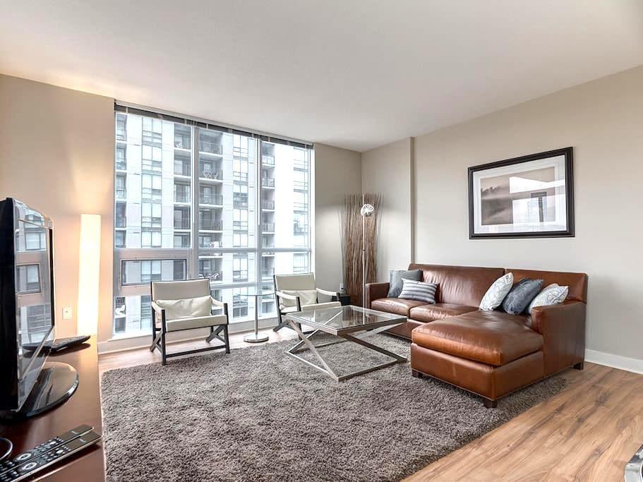 Centrally Located Executive Two Bed/Two Bath Condo - Calgary - Condominium