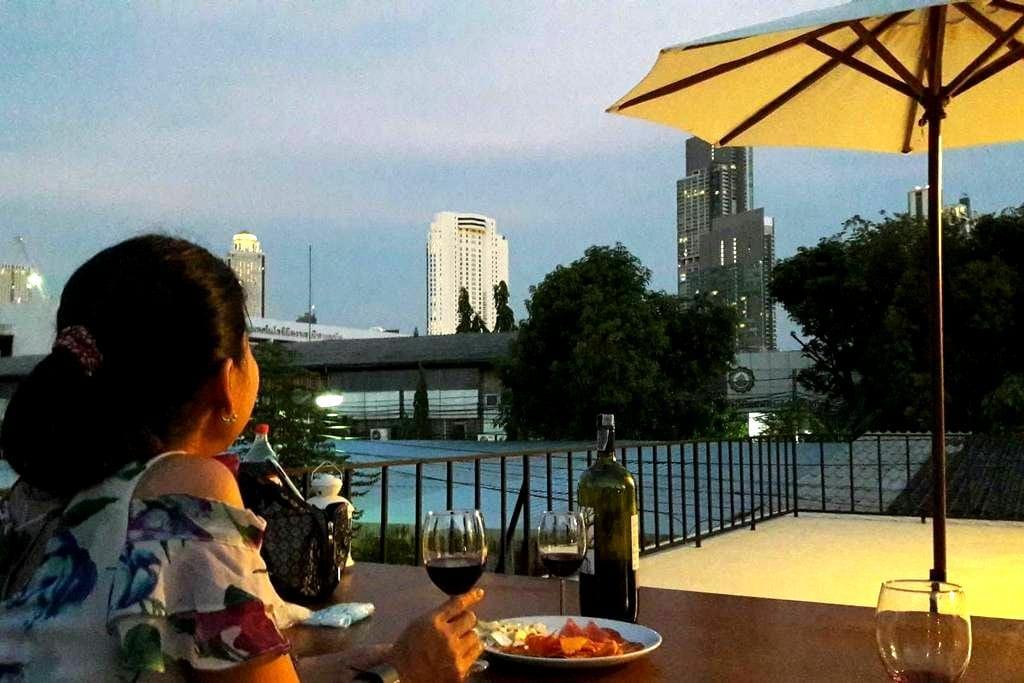 MAMA GARDEN Bangkok no.1 River 200 metre BTS10min - Klongtonsai, Klongsan - House