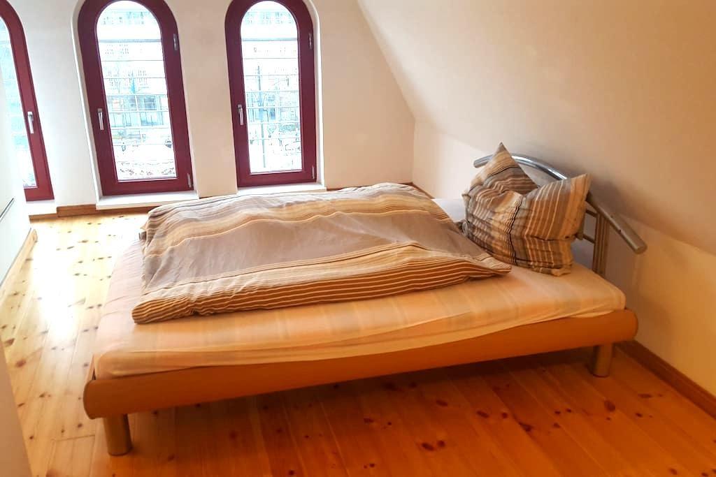 Traumhafte Dachgeschosswohnung im Herzen Rostocks - Rostock - Huoneisto