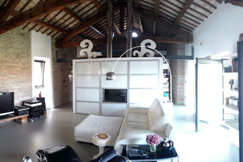 Loft a Polverigi (centro storico) - Polverigi - Appartamento