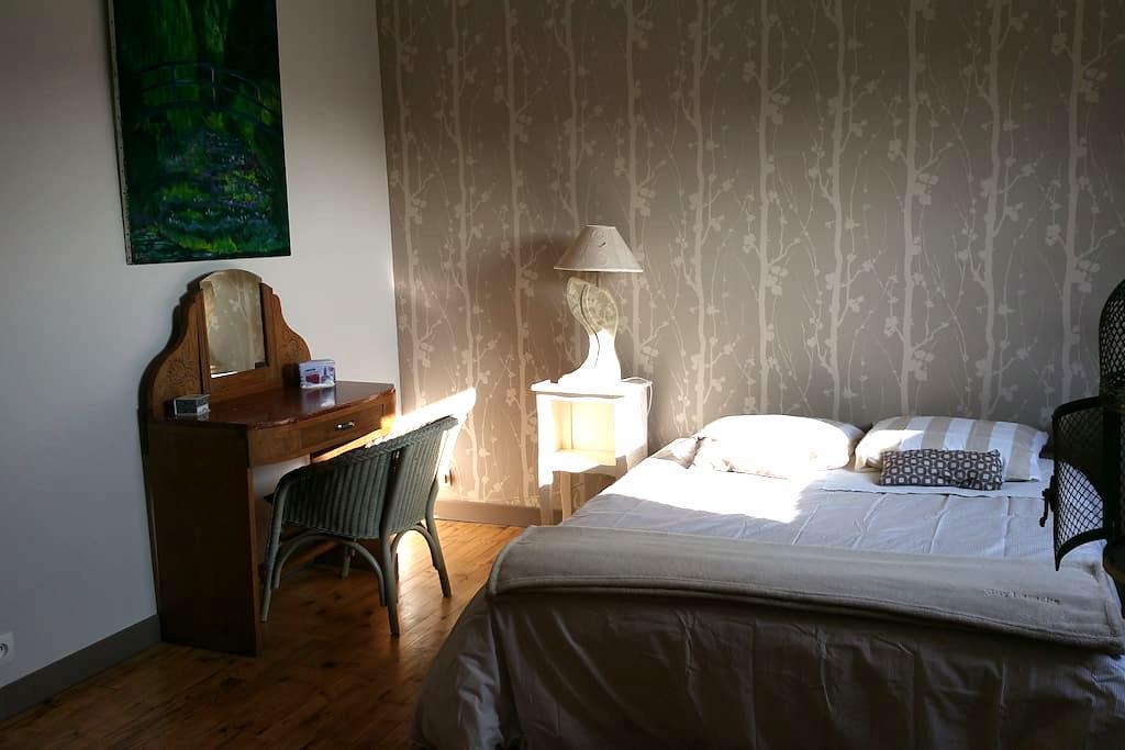 Chambre spacieuse avec salle d'eau privative. - Lorient - Rumah