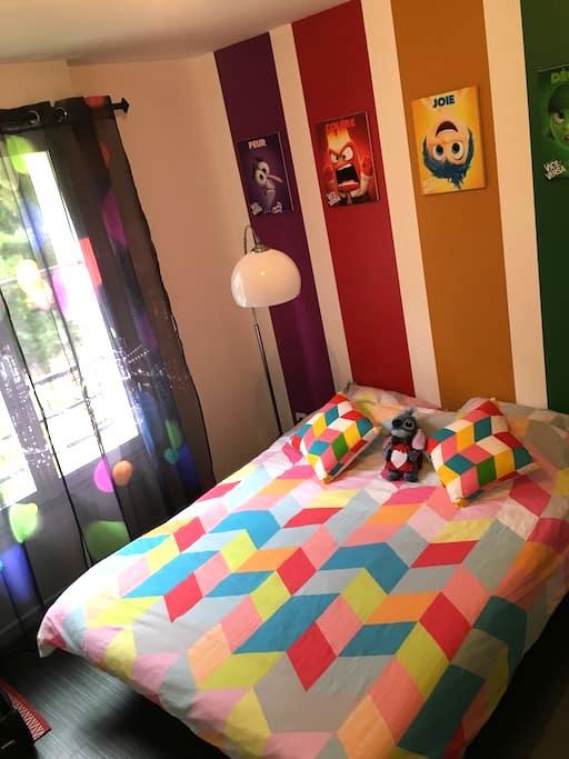 Chambre confortable pour continuer de rêver Disney - Montévrain - Hus