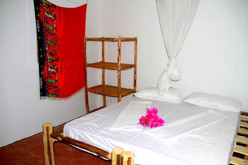 Double room in Sunny House Paje - Paje