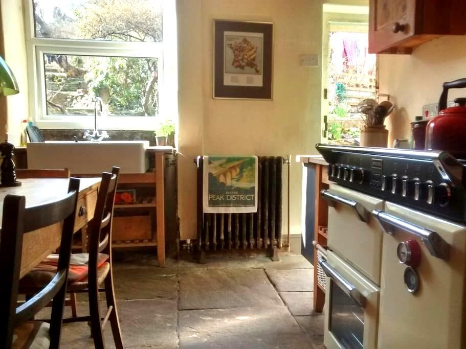 Character cottage rooms, Peak views - New Mills