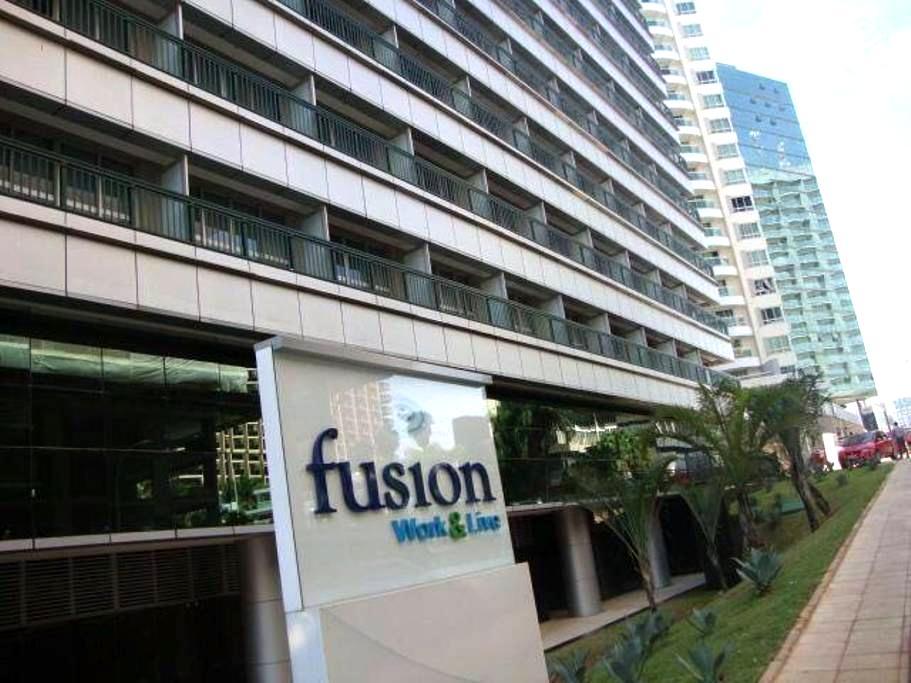 Fusion Work&Live no coração de BSB - Brasília - Appartement