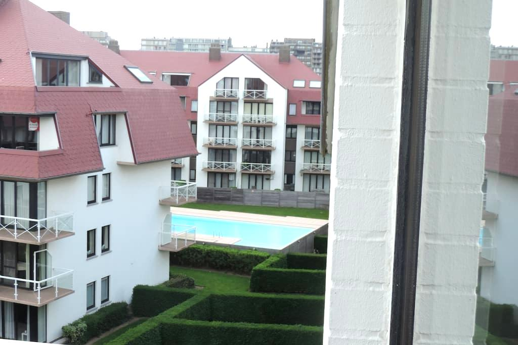 Studio au 4ème et dernier étage d'un immeuble - Middelkerke-Bad - Huoneisto