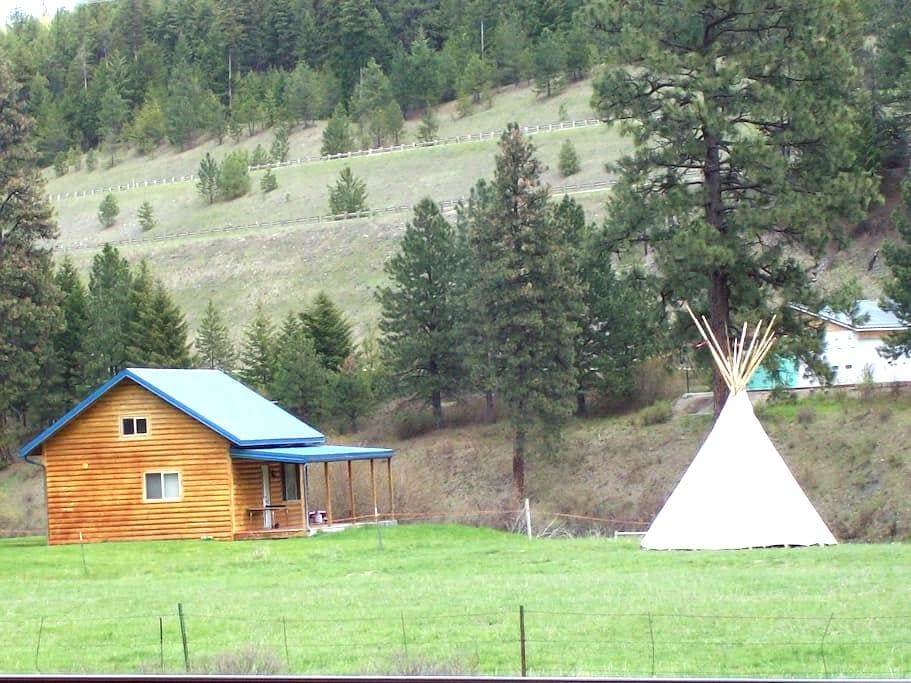 Cabin on the Clark Fork River - Superior
