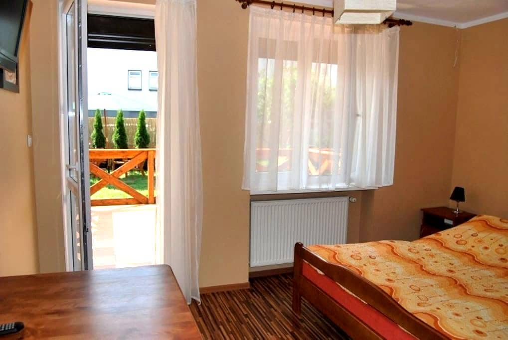 Etiuda sunny room with terrace - Władysławowo - บ้าน